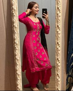 Designer Punjabi Suits Patiala, Punjabi Suits Designer Boutique, Boutique Suits, Salwar Suits, Indian Suits, Indian Wear, Punjabi Suits Party Wear, Embroidery Suits, Hand Embroidery