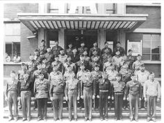 Tongres, Belgium. Officers, Group Photo, from 25th General Hospital: Courage & Skill in World War II -- for an exhibit highlighting movements, personal     narratives and medical contributions see http://digitalprojects.libraries.uc.edu/exhibits/25thGeneralHospital/;     for entire collection see http://digproj.libraries.uc.edu:8180/luna/servlet/s/4lcgzb; connect on Facebook and     share your own WWII General Hospital stories at http://www.facebook.com/UC25thGeneralHospital.