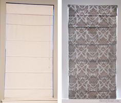 When we bought our house 4 years ago, one of the first things that I did was replace the dated maroon mini blinds with in-stock white roman shades. After 4 year…