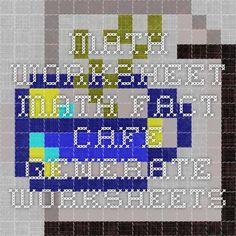 Printables Math Fact Cafe Worksheets math fact cafe worksheets hypeelite printable official