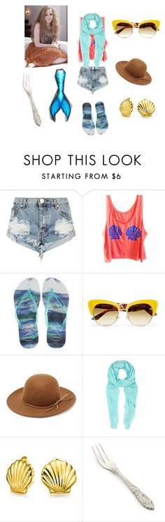"""Alyssa Triton"" by damack on Polyvore featuring One Teaspoon, Havaianas, Dolce&Gabbana, RHYTHM, Furla, Bling Jewelry, Sur La Table and Devlin"