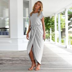 c7ffb322657b Asymmetrical Half Wrap Dress – Slim Wallet Company Dress Up