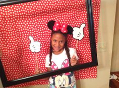 Minnie Mouse Birthday Party Photo Booth / Pictorial Booth  , Minnie Mouse Birthday Party Ideas