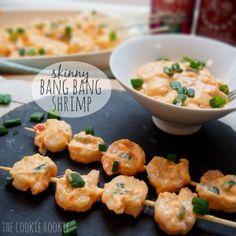skinny bang bang shrimp! made with greek yogurt. PERFECT!