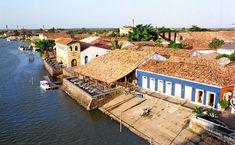 Parnaíba, Piauí - Brasil - Porto das Barcas - centro histórico