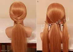 Beautiful 10 Minutes Hairstyle