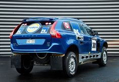 Rear view of the Pewano prepared for the Dakar rally in Photo by Chris Condor. Volvo 4x4, Volvo Xc60, Volvo Cars, Off Road Racing, 4x4 Trucks, Rally, Offroad, Vehicles, Rear View