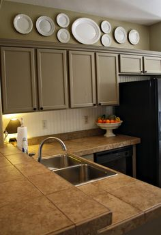 Home style earthy haven on pinterest cottage kitchens for Better homes and gardens painting kitchen cabinets
