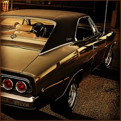 """themusclecar: """" 1968 Dodge Charger R/T Avatar 