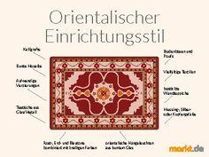Der orientalische Einrichtungsstil I markt.de #marktde #orientalisch #orient #einrichtung #wohnen #möbel #wohnidee