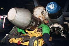 F-110 jet engine - PICRYL Public Domain Image
