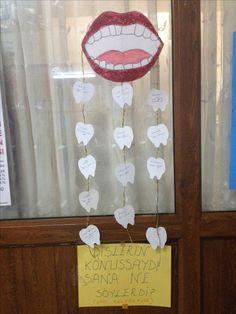 Ağız ve diş sağlığı haftası Preschool Learning Activities, Teaching Kindergarten, Teaching Kids, Beautiful Baby Girl Names, Cute Tooth, School Health, Tooth Fairy, Health Education, Teeth