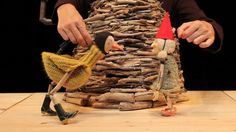 A puppet show about two friends, Gwendolyn the gnome and Matilda the bird. They…