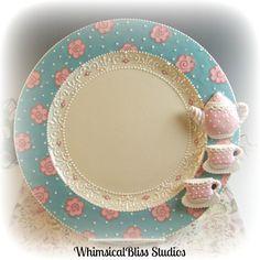 Whimsical Bliss Studios - Tea Time Plate