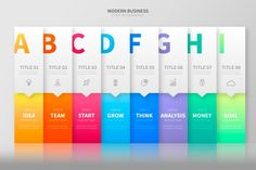 Colorful banners for infographic Infographic Powerpoint, Free Infographic, Infographic Templates, Web Design, Label Design, Vector Design, Business Presentation, Presentation Design, Maquette Site Web
