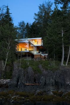 Gambier Island House by Mcfarlane Green Biggar Architects in British Columbia