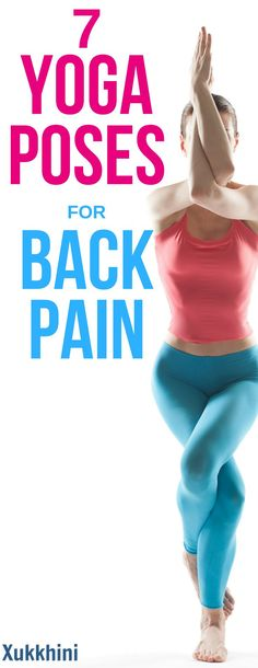 Heal your back pain naturally with these beginner-friendly yoga poses for back pain #YogaPosesForBackPain #YogaPosesForSciaticNerve | Yoga Poses for Bad Back | Yoga Poses for Bad Posture | Yoga for beginners | Yoga poses for lower back pain | Yoga Workout