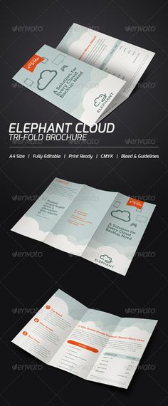 Http://designleo.com/wp Content/uploads/2013/01/best Tri Fold Brochure  Design Templates By Ilker Grafilker/School Time Tri Fold Templa.