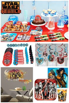 Plan the coolest Star Wars Rebels party for kids with these awesome party supplies along with ideas on how to use them to stretch your party budget.