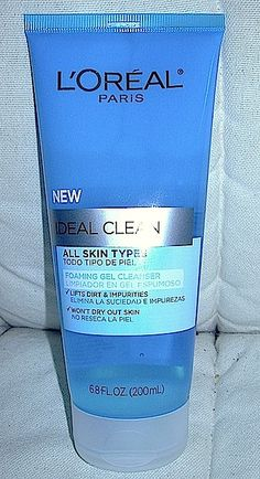 Skincare Review: L'Oréal Ideal Clean Foaming Gel Cleanser For All Skin Types