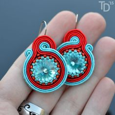 Everyday: By the Sea earrings by Tereza Drábková