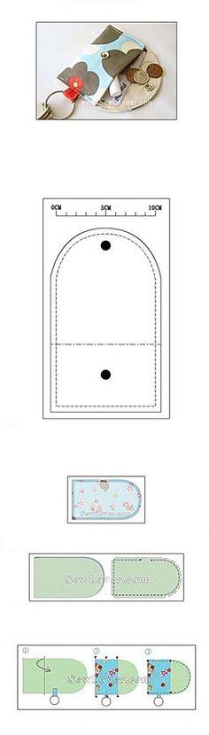 심플한 키링 동전지갑을 만들어 보아욤~ 동전지갑 전체 사이즈는 10 * 20 cm 으로 만드시면 됩니다. 과정이...