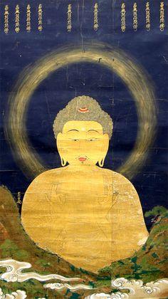 Japanese Buddhism, Japanese Architecture, Natural Scenery, Buddhist Art, Sacred Art, Osaka, Beautiful Paintings, Special Events, Buddha