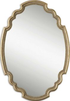 Uttermost Terelle Oval Gold Mirror 28x44