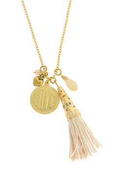 Love Tassel Pendant Necklace on HauteLook
