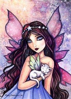 Faerie and cat faerie