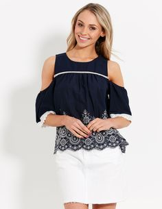 Image for Annabella Shoulder Top from Dotti NZ
