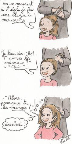 L'humour végétarien, version enfant - Maman Carotte