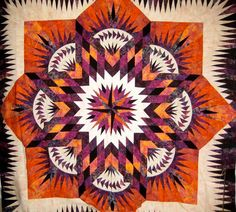 Prairie Star ~ Quiltworx.com, made by Certified Shop, Quilter's Market