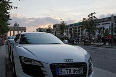 Audi R8 on Unter der Linden,   Berlin, Germany