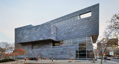 The Randall Stout-designed Art Gallery of Alberta is a Canadian Museum in downtown Edmonton. Its building envelope was engineered and manufactured by Zahner. Art Gallery Of Alberta, Panel Systems, Metal Panels, Facade, The Incredibles, Exterior, Architecture, Building, Outdoor Decor