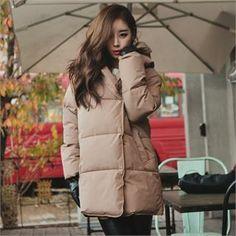 Hooded Puffer Jacket  from #YesStyle <3 GUMZZI YesStyle.com