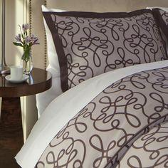 Modern Floral Plum Duvet Cover | Crane & Canopy #safenight  and  #craneandcanopy