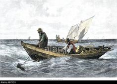 North Atlantic cod fishing in the 1880s