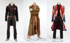 I love the outmost right one. It's a British flag coat made in Britain. :D It looks cool, very cool.