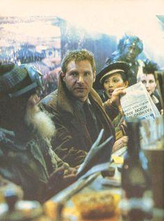 Rick Deckard; Harrison Ford