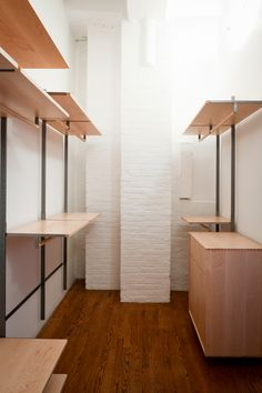 Atlas Industries As4 Modular Shelving System Chelsea Loft Closet Floating  Wall Mounted Bookshelves Interior Design Great Pictures