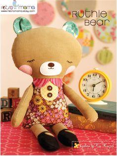 Ruthie Bear PDF Sewing Pattern | Meylah