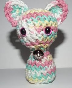 2000 Free Amigurumi Patterns: Crochet Little Kitty Pattern