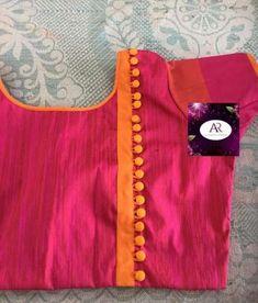 Trendy fashion design studio ideas colour 24 Ideas - All About Brocade Blouse Designs, Cotton Saree Blouse Designs, Simple Blouse Designs, Stylish Blouse Design, Designer Blouse Patterns, Blouse Neck Designs, Blouse Designs Catalogue, Kurta Neck Design, Design Studio