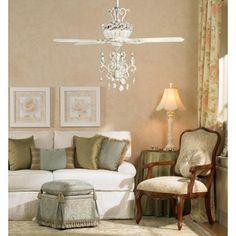 Casa Deville™ Candelabra Ceiling Fan | Candelabra, Ceiling fan and ...