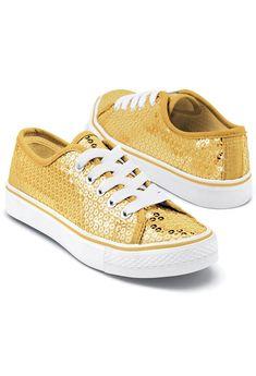 c46263a1739920 Sequin Low Top Dance Sneakers