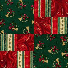 "Christmas Melody 12 Pre-Cut Quilt Kit 8"" Blocks"
