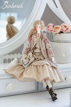Купить Лиза - тильда, кукла ручной работы, кукла текстильная, кукла интерьерная, кукла Тильда