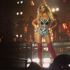 Beyoncé Mrs Carter Show World Tour O2 Arena London 4th March 2014 . Beyoncé was incredible this can't believe I was so close .One night I'll never forget