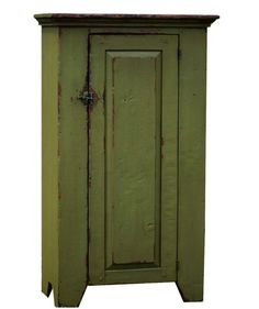 Primitive painted reproduction chimney by JosephSpinaleFurn, $550.00
